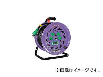 日動工業/NICHIDO 電工ドラム 標準型100Vドラム アース漏電しゃ断器付 30m NFEB34(1255665) JAN:4937305011102