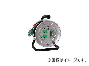 日動工業/NICHIDO 電工ドラム 標準型100Vドラム アース漏電しゃ断器付 10m NSEB12(2098946) JAN:4937305032046