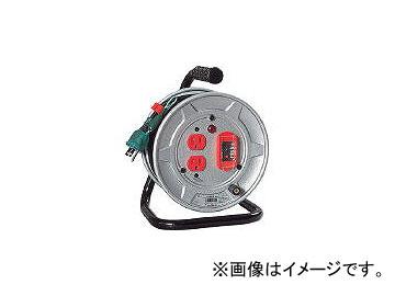 日動工業/NICHIDO 電工ドラム 標準型100Vドラム アース過負荷漏電しゃ断器付 10m NSEK12(2098954) JAN:4937305032053