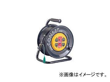 ハタヤリミテッド/HATAYA コンセント盤固定型ブレーカーリール 単相100Vアース付 30m KB30K(3703550) JAN:4930510207834