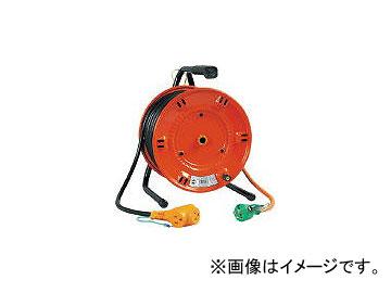 日動工業/NICHIDO 電工ドラム びっくリール 100V アース付 20m NLE20S(1255509) JAN:4937305002483