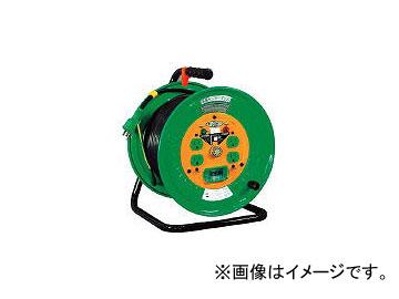 日動工業/NICHIDO 金属センサードラム 100V アース漏電しゃ断器付 30m KSEB34(3686175) JAN:4937305042380
