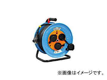 日動工業/NICHIDO 電工ドラム 防雨防塵型三相200V 3.5sq電線アース付 30m DNWE330F20A(3272567) JAN:4937305038468