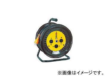 日動工業/NICHIDO 電工ドラム 三相200Vドラム アース付 20m NDE32020A(1255819) JAN:4937305000014