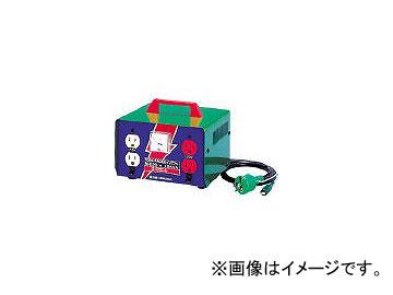 日動工業/NICHIDO 変圧器 昇圧器ハイパワー 2KVA アース付タイプ ME20(1257609) JAN:4937305005040