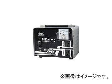 育良精機/IKURA ポータブルトランス(昇圧器) PT20U(2884038) JAN:4992873111678