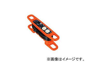 日動工業/NICHIDO ハンドリール 電流コントロールリール 100V 2芯×3m 黒 HRC032(3686124) JAN:4937305033135