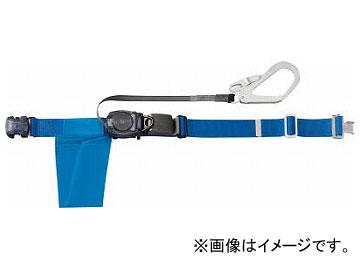 トラスコ中山/TRUSCO 巻取り式安全帯1本つり専用 幅50mm×長さ1200mm ブルー GROT593B(3017940) JAN:4989999140255