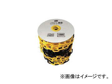 トラスコ中山/TRUSCO プラチェーン 6mm×50m 黄/黒 TPC6YB50(4163150) JAN:4989999212112