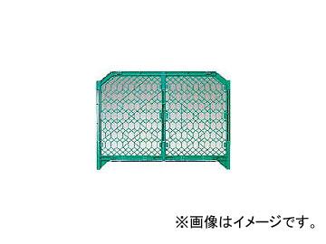 DICプラスチック 安全資材 ディックSPフェンス 1500×1200 緑 DSPF1500 GN