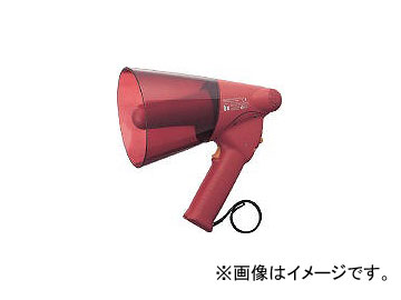 TOA 小型ハンド型メガホン サイレン音付き ER1106S(2904560) JAN:4538095000811