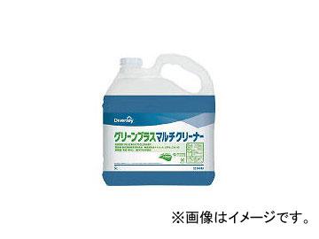 ディバーシー合同会社/DIVERSEY 洗浄剤 グリーンプラスマルチクリーナー 5L 5214340(4096975) JAN:4536735177794