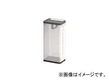 ぶんぶく/BUNBUKU 中身の見えるゴミ箱 角型ロータリー屑入れ RSMP01(4078772) JAN:4976511128068