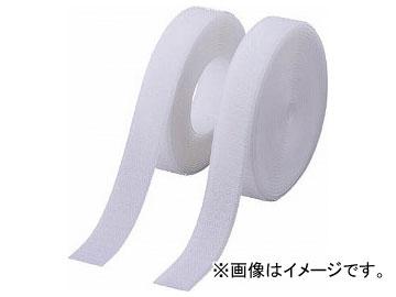 トラスコ中山/TRUSCO 面ファスナー 縫製タイプ 100mm×5m 白 TMSH1005W(3897257) JAN:4989999048599