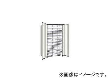 トラスコ中山/TRUSCO 軽量棚扉付 875×533×H1800 樹脂引出透明 小×66 63XT812C11 NG(5043654) JAN:4989999723755