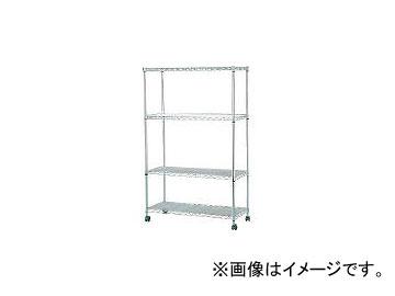 アイリスオーヤマ/IRISOHYAMA スチールラック メタルミニ(キャスター付)800×350×1260 MTO8012C(3285286) JAN:4905009256860