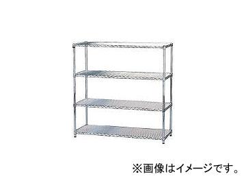 アイリスオーヤマ/IRISOHYAMA メタルラック(ポール径25) 1200×460×1200 MR1212(3852555) JAN:4905009134298