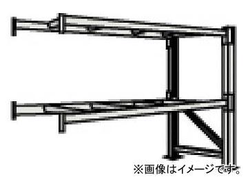 トラスコ中山/TRUSCO 重量パレット棚1トン2300×1000×H2000連結 1D20B23102B