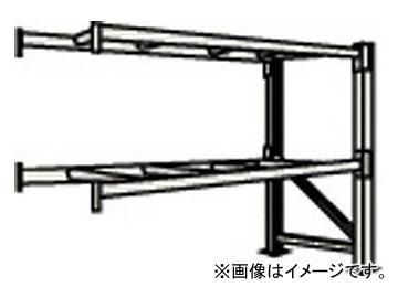トラスコ中山/TRUSCO 重量パレット棚2トン2300×900×H2500連結 2段 2D25B23092B