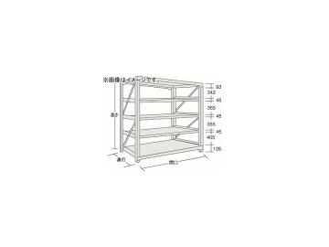 トラスコ中山/TRUSCO M10型重量棚 1500×620×H1800 5段 単体 NG M106565 NG(5063124) JAN:4989999737516