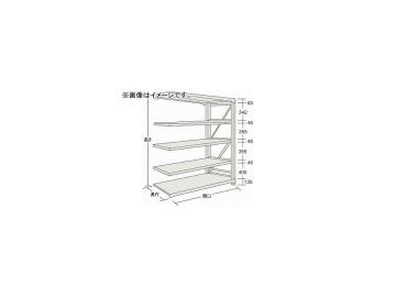 トラスコ中山/TRUSCO M10型重量棚 1500×620×H1800 5段 連結 NG M106565B NG(5081751) JAN:4989999737523