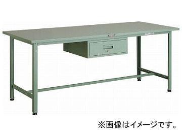 トラスコ中山/TRUSCO SAE型作業台 1800×750×H740 1段引出付 SAE1800F1(2891433) JAN:4989999650334