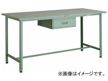 トラスコ中山/TRUSCO HSAE型立作業台 1800×900×H900 1段引出付 HSAE1809F1(2891654) JAN:4989999647754