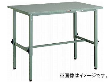トラスコ中山/TRUSCO SAEM型高さ調節作業台 1200×750 SAEM1200(2850877) JAN:4989999813838