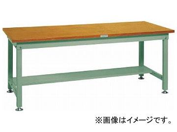 トラスコ中山/TRUSCO HW型作業台 1500×750×H740 HW1500 GN(2409097) JAN:4989999634365