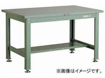 トラスコ中山/TRUSCO SHW型作業台 900×750×H740 SHW0975 GN(2408996) JAN:4989999641462