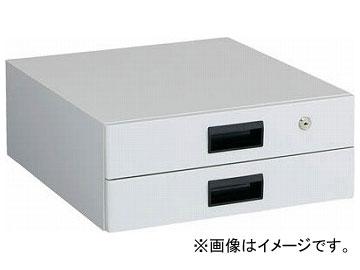 トラスコ中山/TRUSCO UDC型作業台用引出し 薄型2段 W色 UDK002W