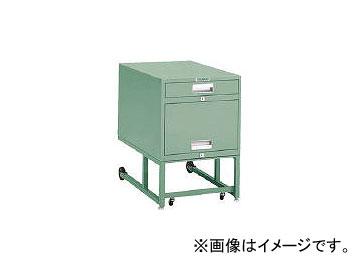 トラスコ中山/TRUSCO BCD型作業台用ワゴン ロッカー H620 グリーン BCD1K(2401495) JAN:4989999799088