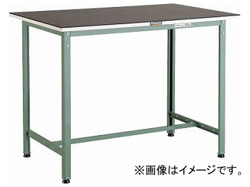 トラスコ中山/TRUSCO ゴムマット張りHAE型立作業台 900×600 HAE0960G5