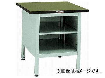 トラスコ中山/TRUSCO OW型小型作業台 棚板付 700×700×H740 OW7070B(2424061) JAN:4989999650853