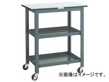 トラスコ中山/TRUSCO WHT型作業台補助テーブルワゴン 750×600×H900 WHT6075H(3012760) JAN:4989999582888