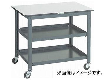 トラスコ中山/TRUSCO WHT型作業台補助テーブルワゴン 900×600×H740 WHT6090(3012832) JAN:4989999582956