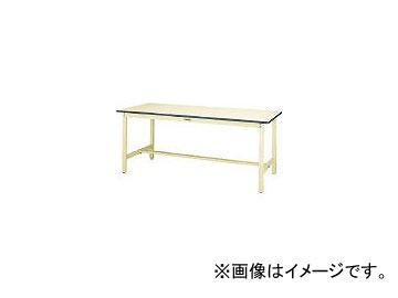 山金工業/YAMAKIN ワークテーブル300シリーズ リノリューム天板W1800×D750 SWR1875II