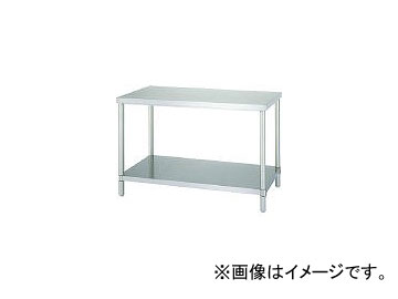 シンコー/SHINKOHIR ステンレス作業台ベタ棚 AB9060