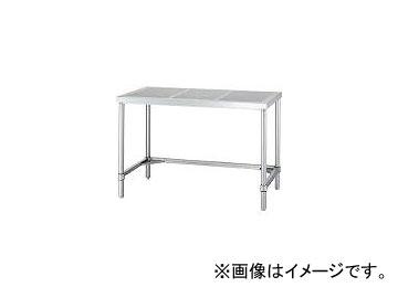 シンコー/SHINKOHIR ステンレス作業台パンチング天板三方枠 PATN12075