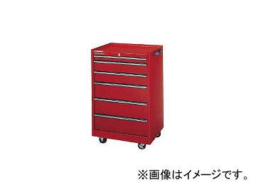 ダイシン工業/DAISHINKOGYO ツールケースワゴン レッド TWN936