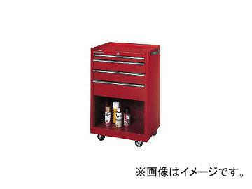 ダイシン工業/DAISHINKOGYO ツールケースワゴン レッド TWN94K