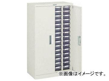 トラスコ中山/TRUSCO バンラックケースA型 扉付 4列15段 A415D(5019656) JAN:4989999623499