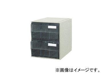 サカセ化学工業/SAKASE ビジネスカセッター B4タイプ 引出2段 B4002(5100224) JAN:4948349801567