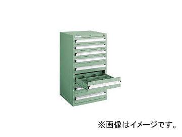 大阪製罐/OS 軽量キャビネット5型 最大積載量500kg 引出し4×4段 51008