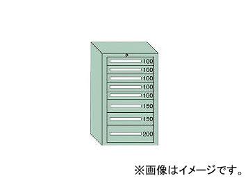 大阪製罐/OS 軽量キャビネット5型 最大積載量500kg 引出し5×2×1段 51010