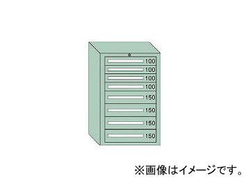 大阪製罐/OS 中量キャビネット7型 最大積載量1000kg 引出し4×4段 71008