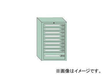 大阪製罐/OS ミドルキャビネットMD型 最大積載量1000kg 引出し8×1段 MD1013