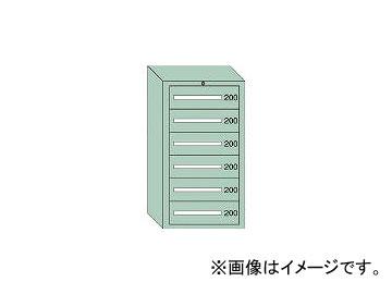 大阪製罐/OS 中量キャビネット7型 最大積載量1200kg 引出し6段 71203