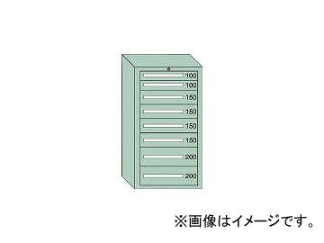 大阪製罐/OS ミドルキャビネットMD型 最大積載量1200kg 引出し2×4×2段 MD1205