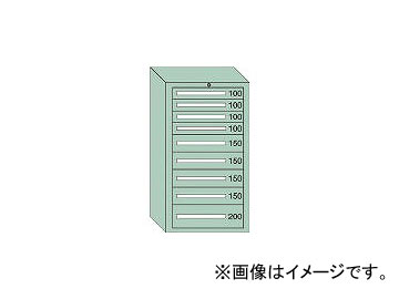 特価商品  引出し4×4×1段 最大積載量1200kg 71210:オートパーツエージェンシー2号店 大阪製罐/OS 中量キャビネット7型-DIY・工具
